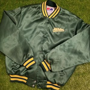 Vintage Oakland Athletics 80s Jacket